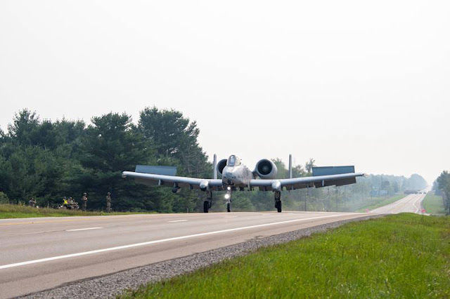 A10 lands Michigan State Highway