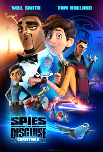 Spies in Disguise (BRRip 1080p Dual Latino/Ingles) (2019)