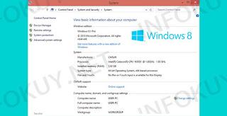 Gunakan Kombinasi Tombol Windows + Pause Break