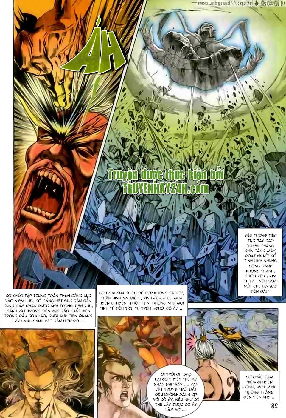 Cơ Phát Khai Chu Bản chapter 102 trang 28