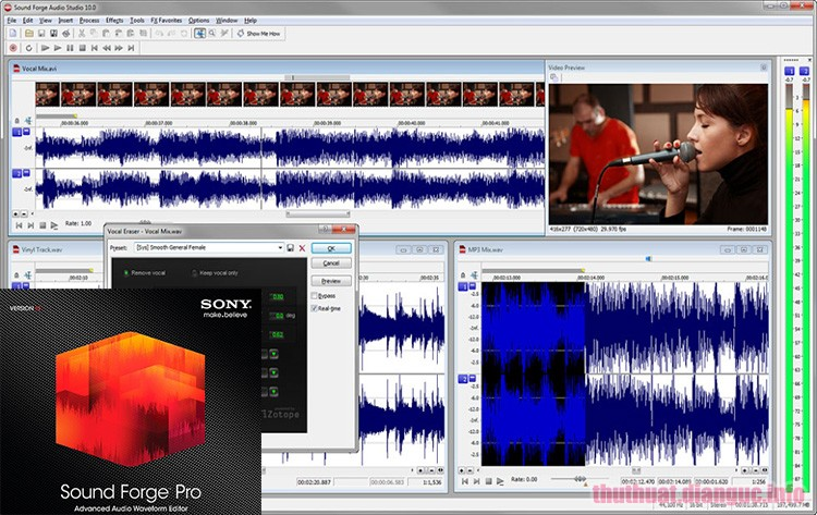 Download MAGIX Sound Forge Pro 13.0.0.76 Full Crack