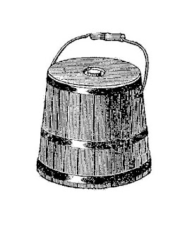 bucket water illustration