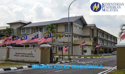 Senarai Kolej Tingkatan 6 di Malaysia
