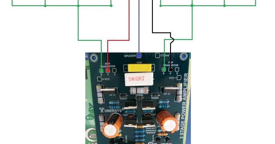 Cara Paralel TR Final Power 3 Tingkat - Bahar Electronic