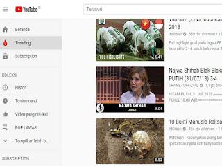 Mencontoh Keyword Video Yang Lagi Trending atau Banyak Penonton
