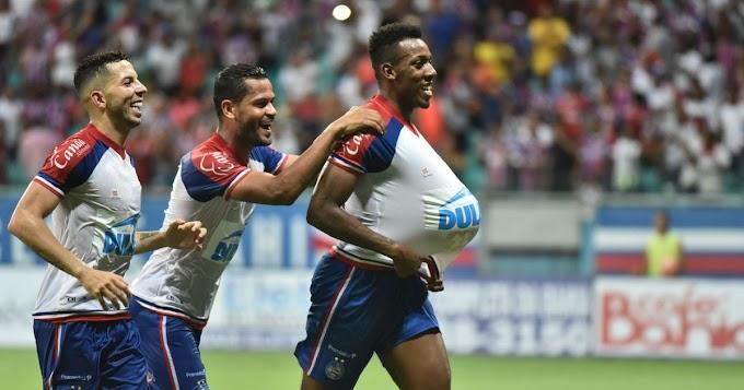 Bahia bate Atlético de Alagoinhas e encaminha vaga à final do Baianão