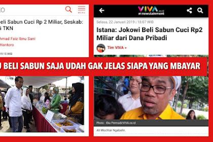 Suryo Prabowo: Baru Ditanya Siapa yang Bayar Sabun Aja Jawabannya Dah Ngalor Ngidul