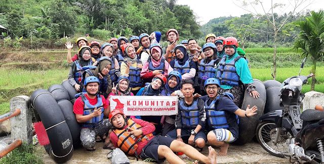 River Tubing Backpaker Karawang