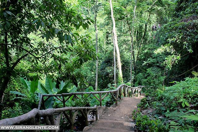 Tinago Falls itinerary