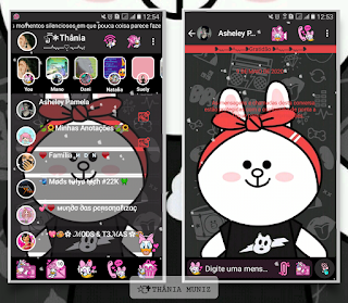 White Teddy Bear Theme For YOWhatsApp & KM WhatsApp By Thania