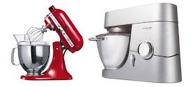 Il tait une fois la p tisserie guide d 39 achat d 39 un robot for Kitchenaid vs kenwood chef
