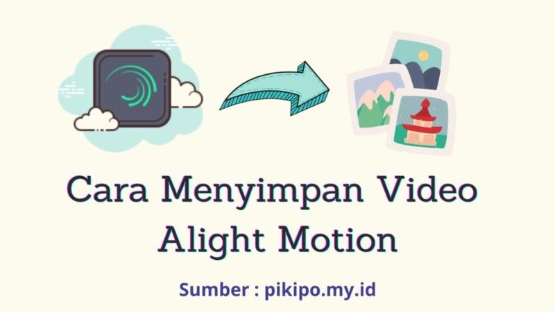 Inilah Cara Menyimpan Video Allight Motion ke Galeri Dengan Mudah