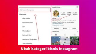 Cara Mengubah Kategori Profil Bisnis Di Instagram