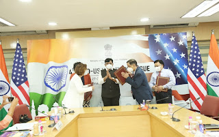 India and the US signed Two MoUs