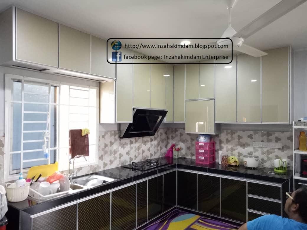 Perkhidmatan Membuat Perabot Johor Bahru Kabinet Dapur Atas Aluminium Pasir Gudang