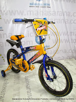 16 Inch Family Power-X Kids Bike