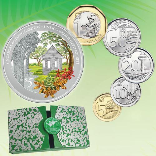 Botanic Gardens coin
