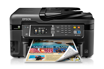 I was a flake afraid because in that place was no farther guidance Epson WorkForce WF-3620 Driver Download