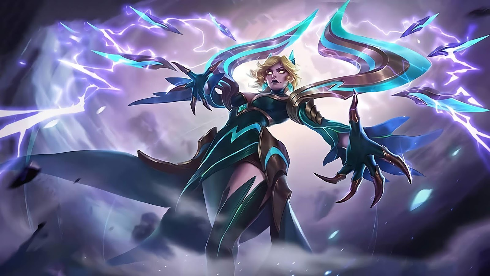 Wallpaper Eudora Emerland Enchantress Skins Mobile Legends HD for PC
