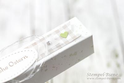 stampinup Osterverpackung; verpackung schokoladeneier; schokoladenverpackung; Osterworkshop; stempel-biene; gorgeousgrunge; kleinewünsche; anleitungschokoladenverpackung