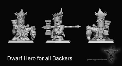 Free model to backers