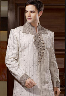 Model baju batik gamis pria