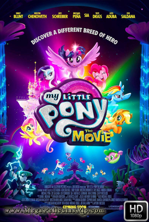 My Little Pony La Pelicula [1080p] [Latino-Ingles] [MEGA]