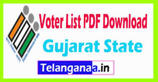 Gujarat Voters list PDF Download with Photo