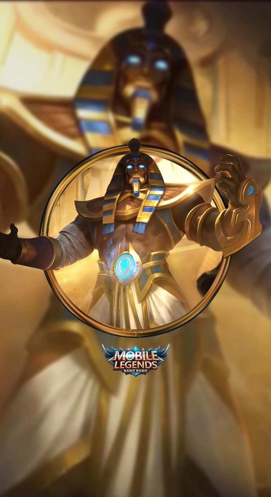 Wallpaper Roger Anubis Skin Mobile Legends HD for Mobile