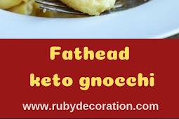 Fathead keto gnocchi