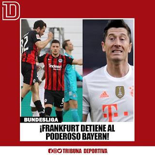 FRANKFURT FRENÓ AL PODEROSO BAYER