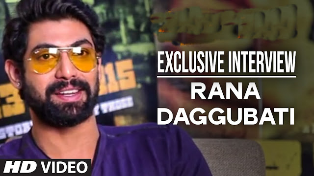 Rana Exclusive Interview About Nene Raju Nene Mantri Movie