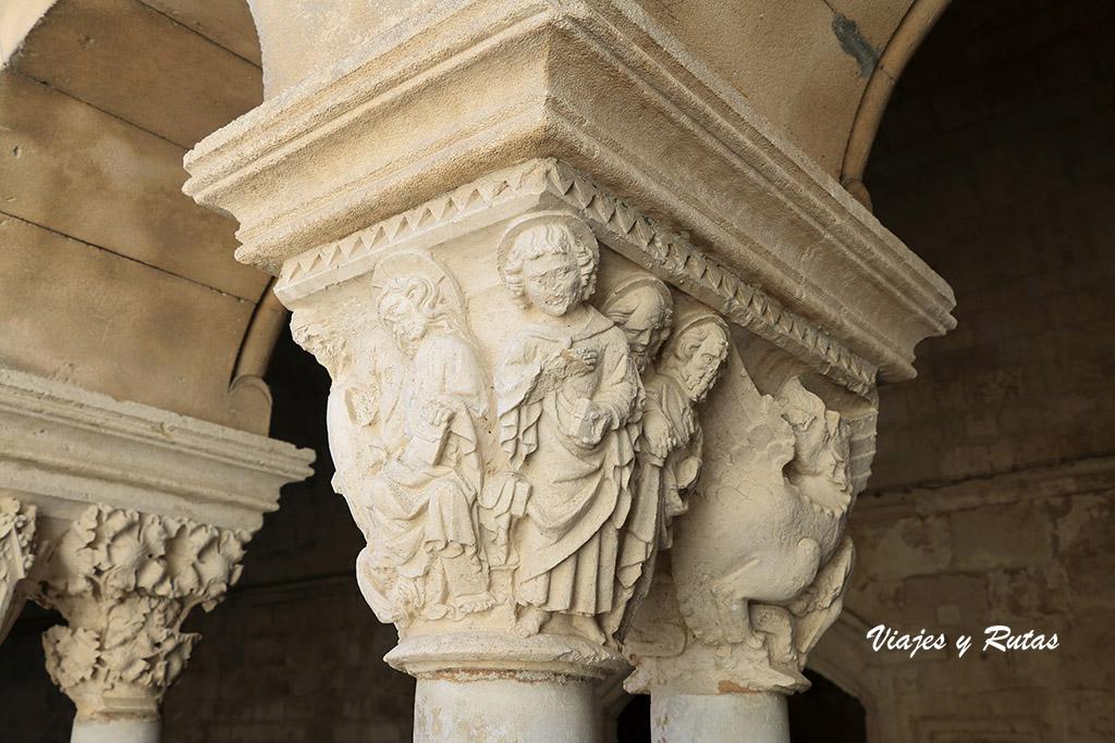 Capiteles de la abadía de Montmajour