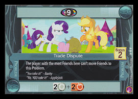My Little Pony Trade Dispute Rock N Rave CCG Card