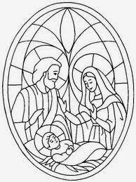 Figuras Para Colorear De La Sagrada Familia Dibujos Para Pintar