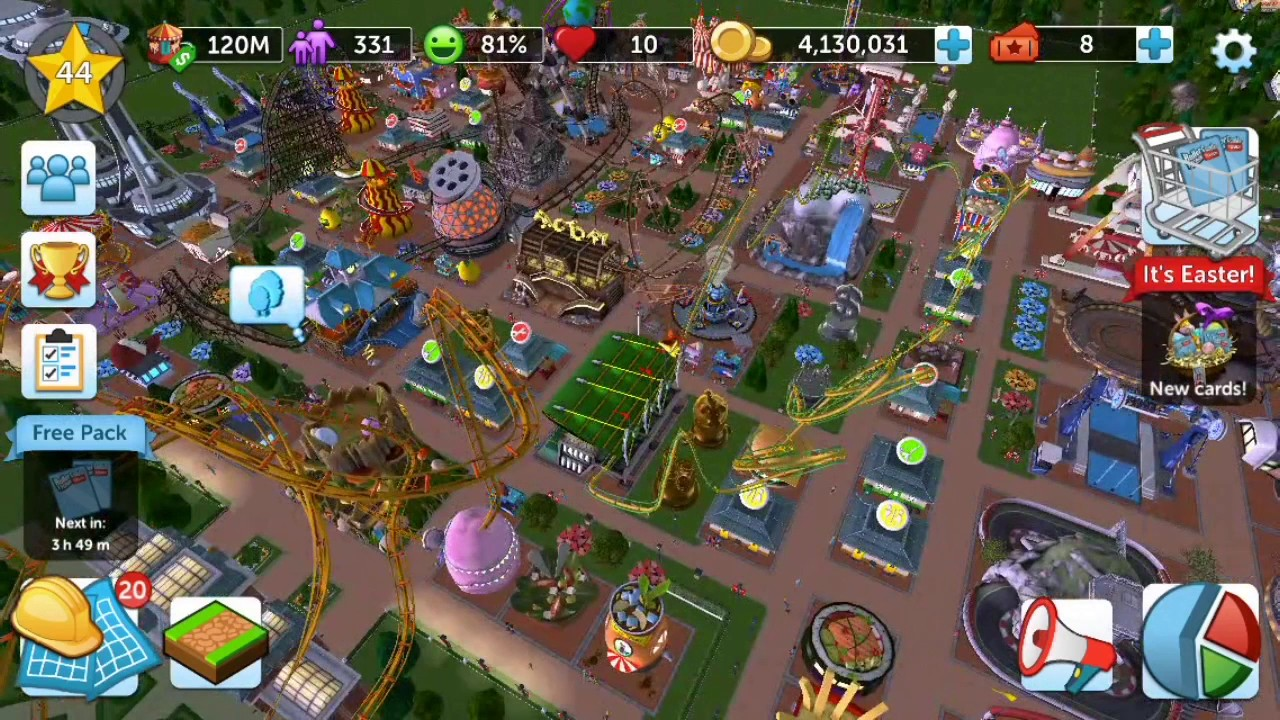 Rollercoaster Tycoon Touch Review
