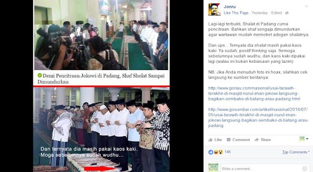 Sering Bikin Fitnah dan Provokasi, Pemilik Rumaysho Perintahkan Laporkan Jonru Ke Pihak Berwajib