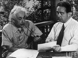 The Journey of Thinking  for Mathematics and Science,Physicists Albert Einstein and Leo Szilard