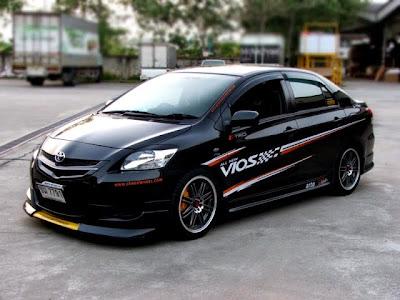 Vios Black Modified >> Modifications Toyota Vios Modification Mobil