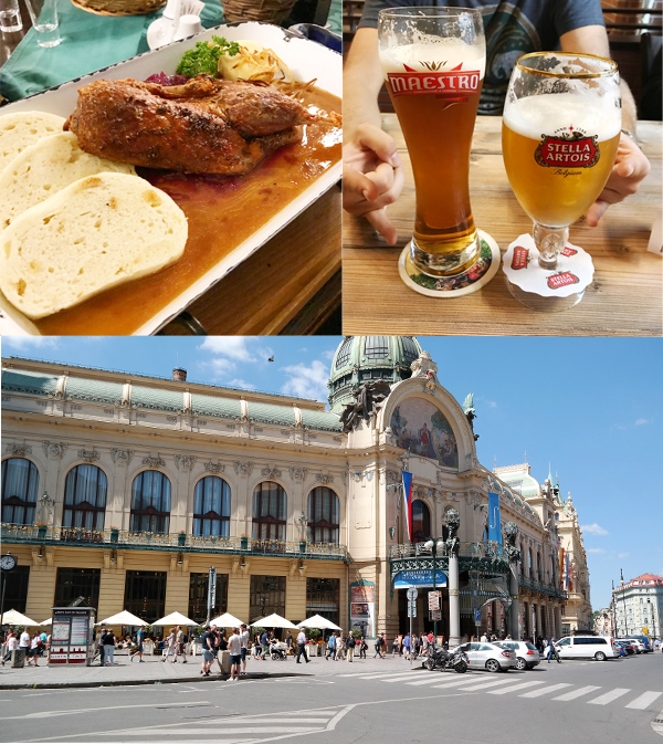 Travel Guide Prag Restaurant Plzenska