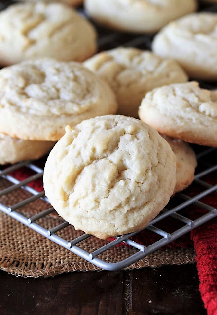 Amish Sugar Cookies on Cooling Rack Image