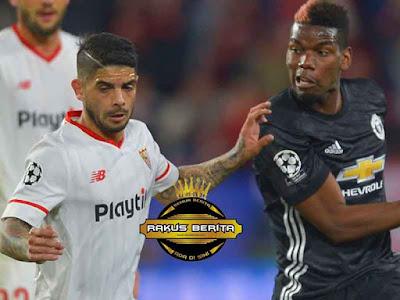 Pogba Tak Melakukan Banyak Melawan Sevilla