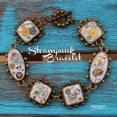 http://www.doodlecraftblog.com/2015/05/steampunk-charm-bracelet.html