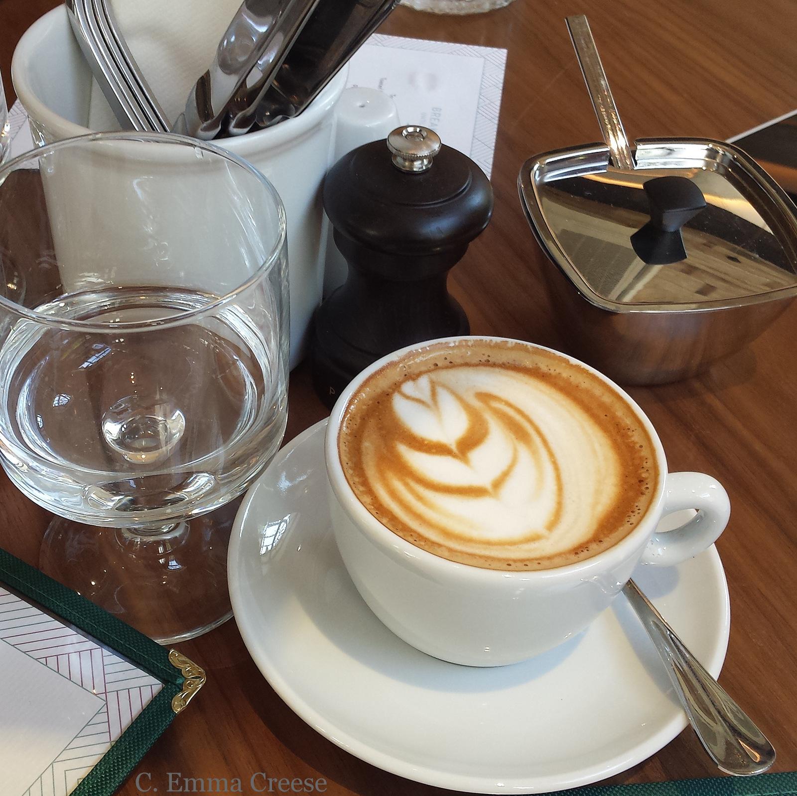Coffee Blixen brunch restaurant Shoreditch London