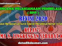 RPP KELAS 5 TEMA 8 SD/MI KURIKULUM 2013 REVISI 2020