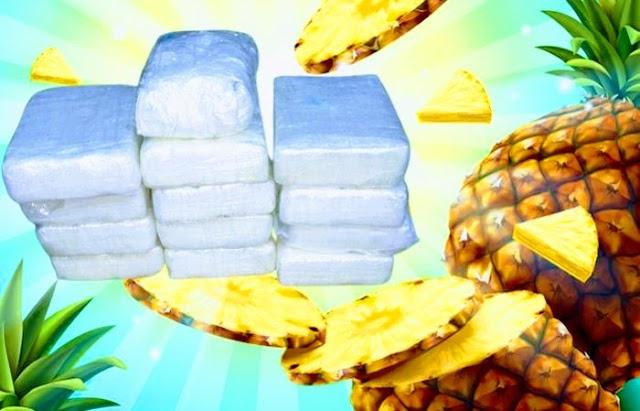 Detienen en España a dos empresarios que importaron de Brasil 800 kilogramos de cocaína mezclada con pulpas de piña