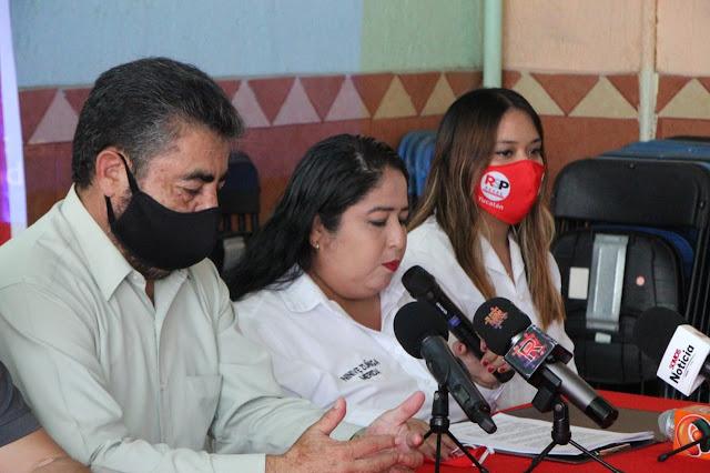 Ninive Zúñiga: vamos en el combate a la corrupción y en el apoyo a las mujeres