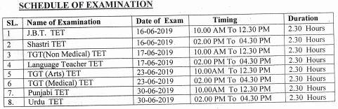image : HP TET 2019 Exam Schedule June 2019 @ TeachMatters