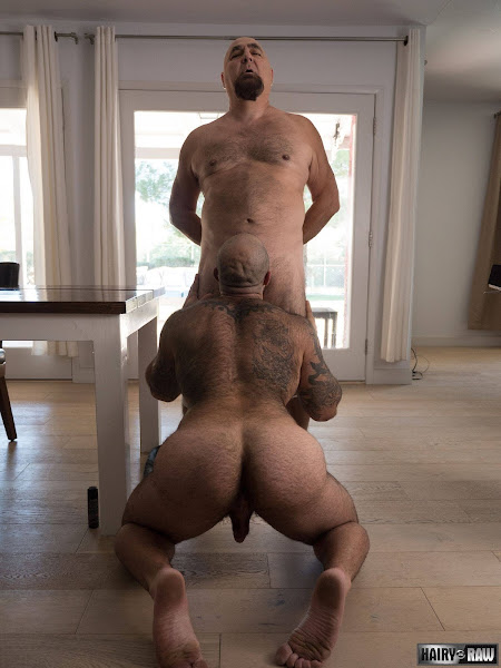 #Hairy and #Raw - Atlas Grant and JW Bare