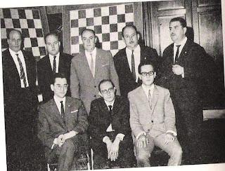 Componentes del Club Ajedrez Español, Campeones de España en 1966